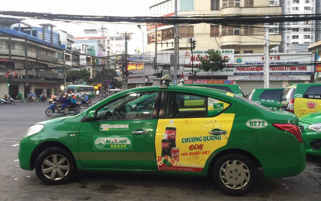Chương Dương Tung Hình Ảnh Quảng Cáo Sá Xị Lên Xe Taxi