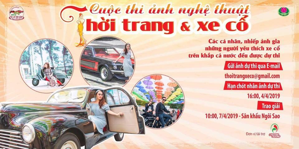 Ngày hội xe cổ Sài Gòn lần 2 ở Đầm Sen